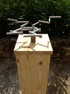 'Transformable construction' prototype, Peter Lowe, Lagamas 2013